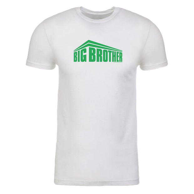 Big Brother Green All Stars Logo Men's Tri-Blend T-Shirt | Official CBS Entertainment Store