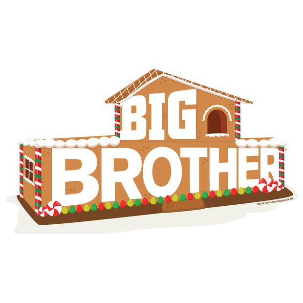 Big Brother Gingerbread House Logo Apron - With Pockets | Official CBS Entertainment Store