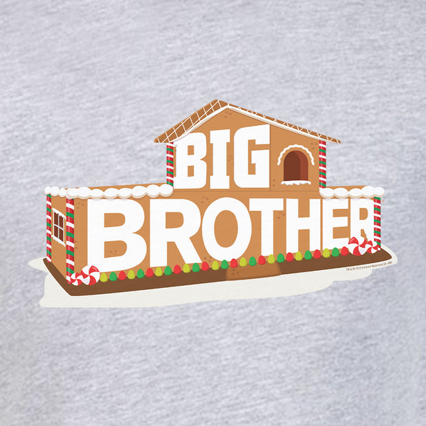 Big Brother Gingerbread House Logo Adult Short Sleeve T-Shirt