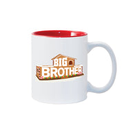 Big Brother Gingerbread House Logo 11 oz Two-Tone Mug | Official CBS Entertainment Store