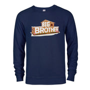 Big Brother Gingerbread House Logo Fleece Crewneck Sweatshirt