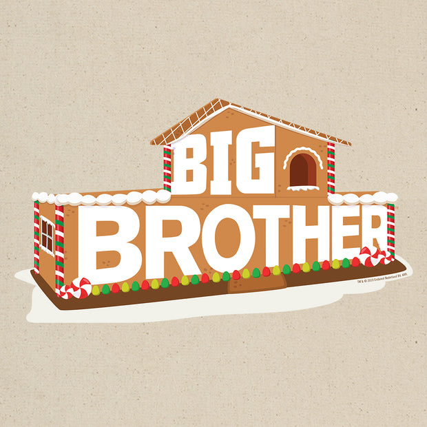 Big Brother Gingerbread House Logo Canvas Tote Bag | Official CBS Entertainment Store