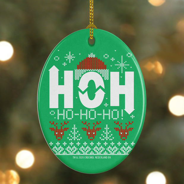 Big Brother Holiday HOH Oval Doily Ornament | Official CBS Entertainment Store