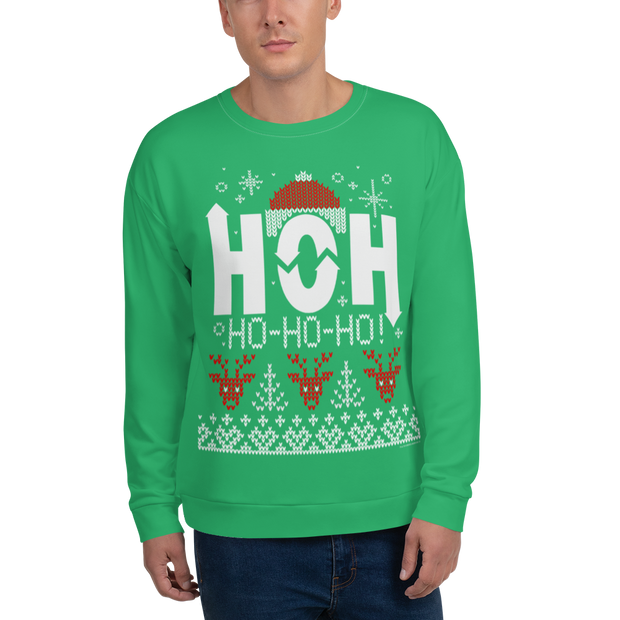 Big Brother Holiday HOH Adult All-Over Print Sweatshirt | Official CBS Entertainment Store
