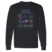 Big Brother Logo Mash Up Adult Long Sleeve T-Shirt