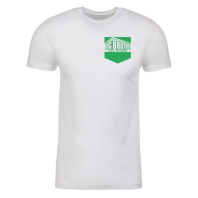 Big Brother All Stars Pocket Logo Men's Tri-Blend T-Shirt | Official CBS Entertainment Store