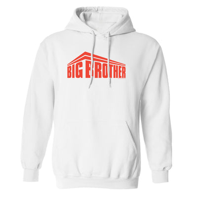 Big Brother Red All Stars Logo Fleece Hooded Sweatshirt | Official CBS Entertainment Store