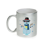 Big Brother Snowbot 3000 11 oz Silver Metallic Mug | Official CBS Entertainment Store