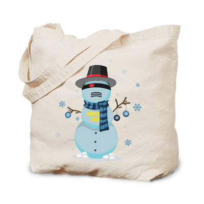 Big Brother Snowbot 3000 Canvas Tote Bag | Official CBS Entertainment Store