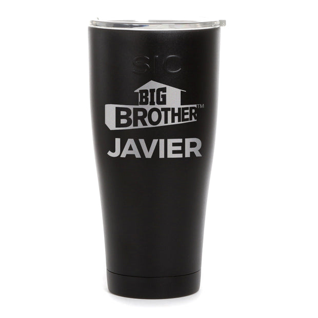 Big Brother Logo Personalized Laser Engraved SIC Tumbler | Official CBS Entertainment Store