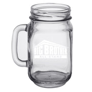 Big Brother All Stars Logo Personalized Laser Engraved Mason Jar