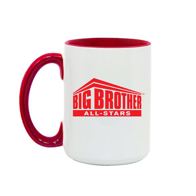 Big Brother All Stars Logo Two-Tone Mug