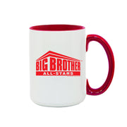 Big Brother All Stars Logo Two-Tone Mug | Official CBS Entertainment Store