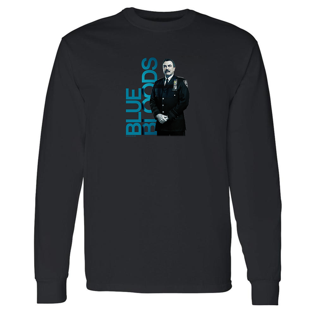 Blue Bloods  Frank Reagan Adult Long Sleeve T-Shirt