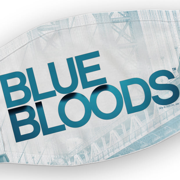 Blue Bloods Logo Washable Face Mask | Official CBS Entertainment Store