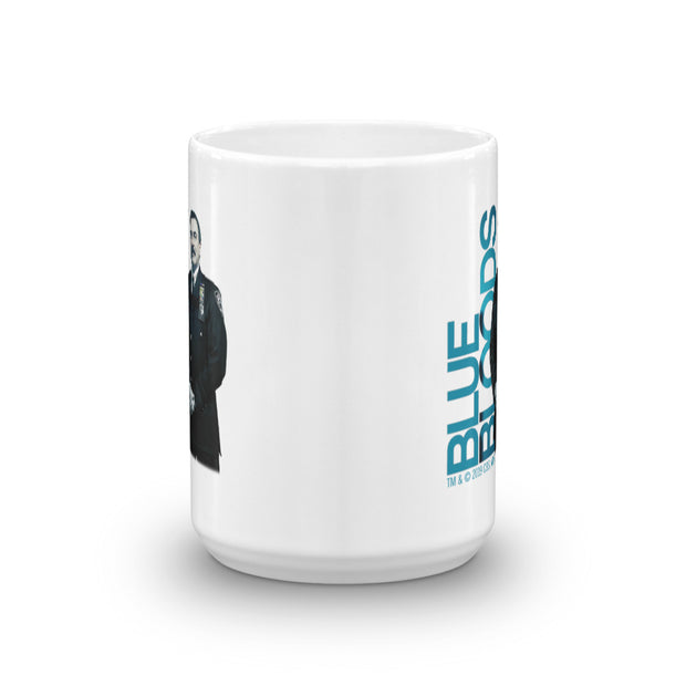 Blue Bloods Frank Reagan White Mug | Official CBS Entertainment Store