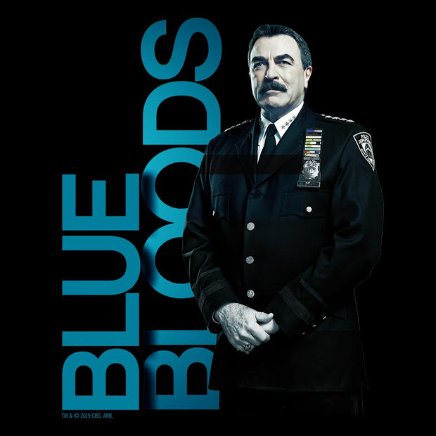 Blue Bloods Frank Reagan Adult Short Sleeve T-Shirt