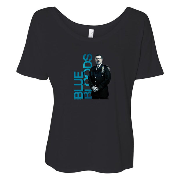 Blue Bloods Frank Reagan Women's Relaxed T-Shirt