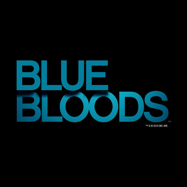 Blue Bloods Logo Adult Short Sleeve T-Shirt
