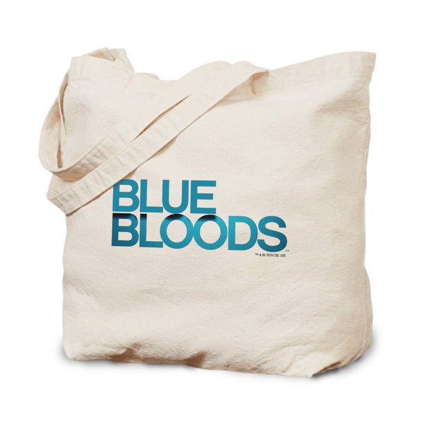 Blue Bloods Logo Canvas Tote Bag | Official CBS Entertainment Store