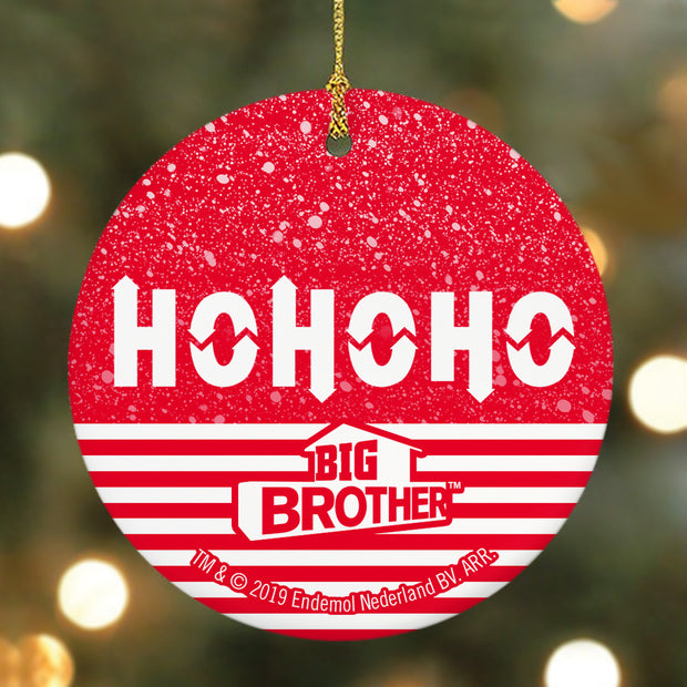 Big Brother HOHOHO HOH Round Ceramic Ornament | Official CBS Entertainment Store