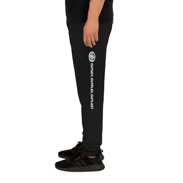 Survivor Outwit, Outplay, Outlast Adult Fleece Joggers | Official CBS Entertainment Store
