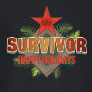Survivor Happy Holidays Fleece Crewneck Sweatshirt