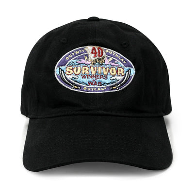 Survivor Season 40 Winners at War Logo Embroidered Hat