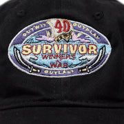 Survivor Season 40 Winners at War Logo Embroidered Hat | Official CBS Entertainment Store