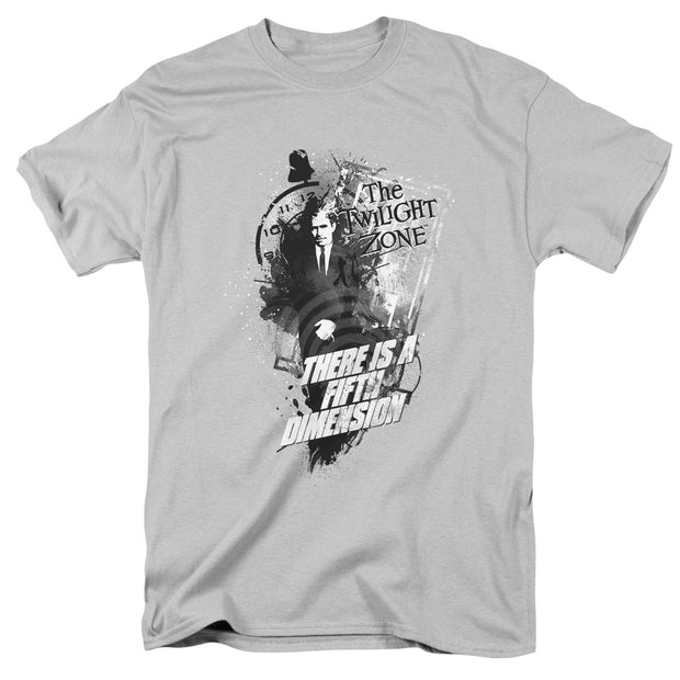 The Twilight Zone Fifth Dimension Adult Short Sleeve T-Shirt