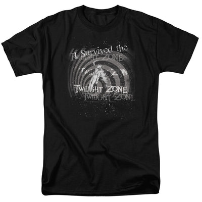 The Twilight Zone I Survived Adult Short Sleeve T-Shirt