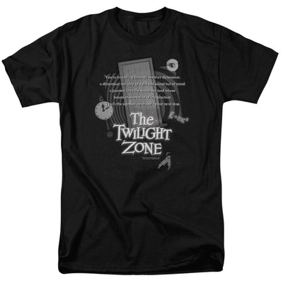 The Twilight Zone Monologue Adult Short Sleeve T-Shirt