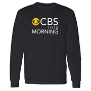 CBS News This Morning Logo Adult Long Sleeve T-Shirt