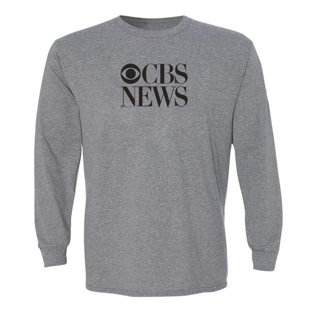 CBS News Vintage Logo Adult Long Sleeve T-Shirt