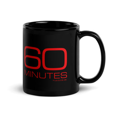 CBS 60 Minutes 11 oz Black Mug | Official CBS Entertainment Store