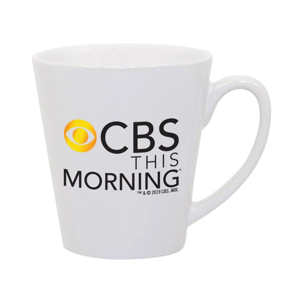 CBS News CBS This Morning 12 oz Latte Mug | Official CBS Entertainment Store