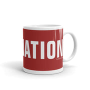 CBS News Face the Nation 11 oz White Mug | Official CBS Entertainment Store