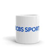CBS Sports HQ Logo White Mug