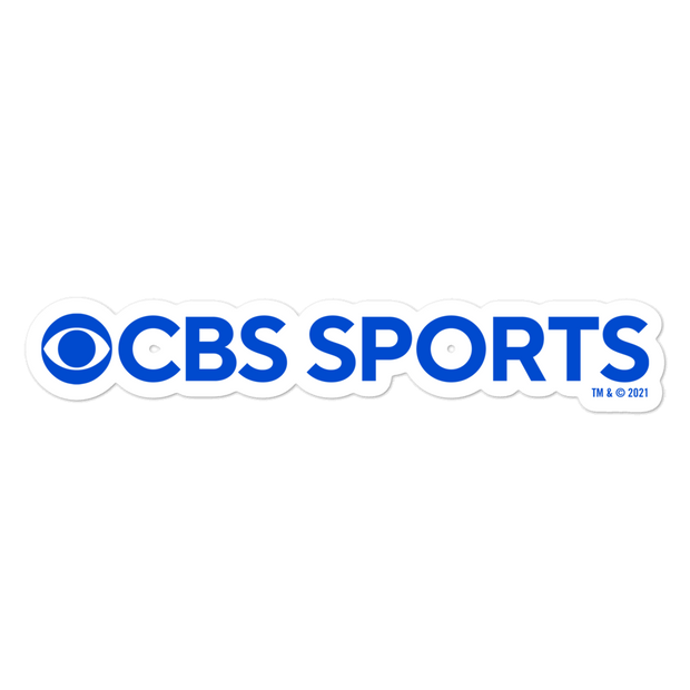 CBS Sports Logo Die Cut Sticker