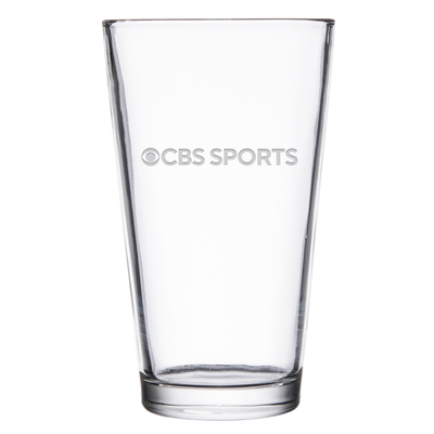 CBS Sports Logo Laser Engraved Pint Glass