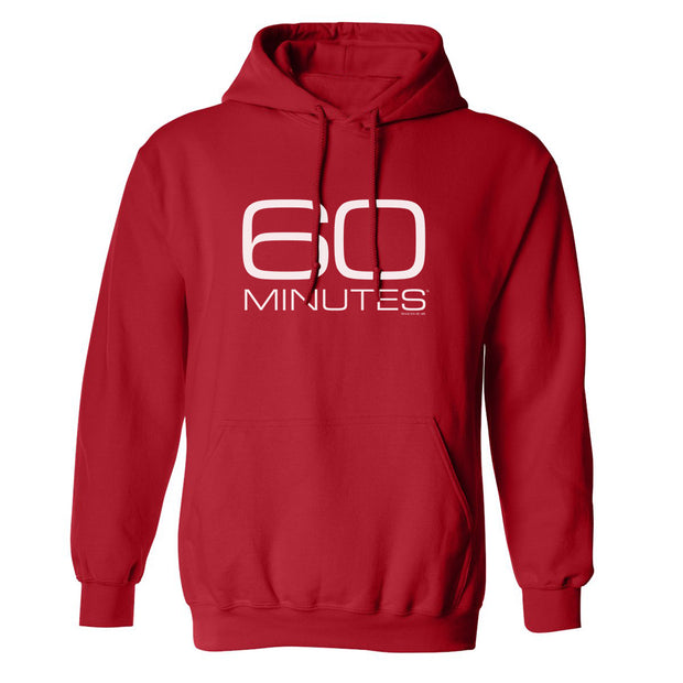 CBS News 60 Minutes Logo Fleece Hooded Sweatshirt