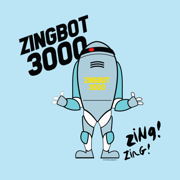 Big Brother Zingbot 3000 Sherpa Banket | Official CBS Entertainment Store