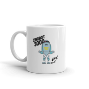 Big Brother Zingbot 3000 White Mug