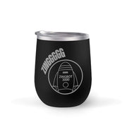 Big Brother Zingbot 12 oz Stainless Steel Wine Tumbler | Official CBS Entertainment Store