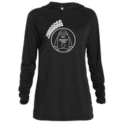 Big Brother Zingbot Adult Tri-Blend Raglan Hoodie | Official CBS Entertainment Store