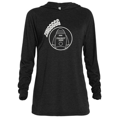 Big Brother Zingbot Adult Tri-Blend Raglan Hoodie