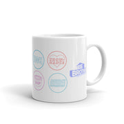 Big Brother Logo Mash Up White Mug | Official CBS Entertainment Store