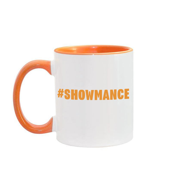 Big Brother Hashtag Personalized Orange Two-Tone 11 oz Mug | Official CBS Entertainment Store