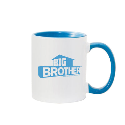 Big Brother Hashtag Personalized Blue Two-Tone 11 oz Mug