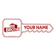 Big Brother Personalized Two Tone 11 oz White/Red Mug | Official CBS Entertainment Store